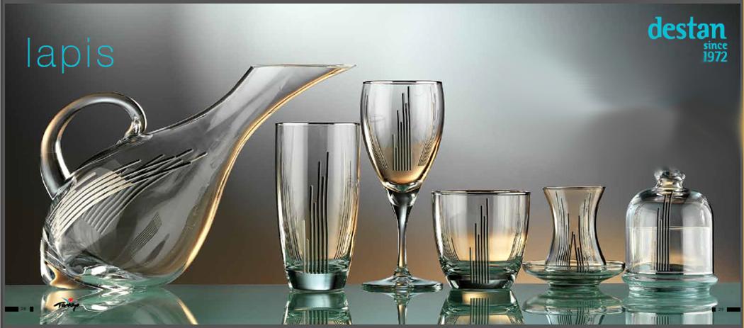 2014 Destan Lapis Glass Sets