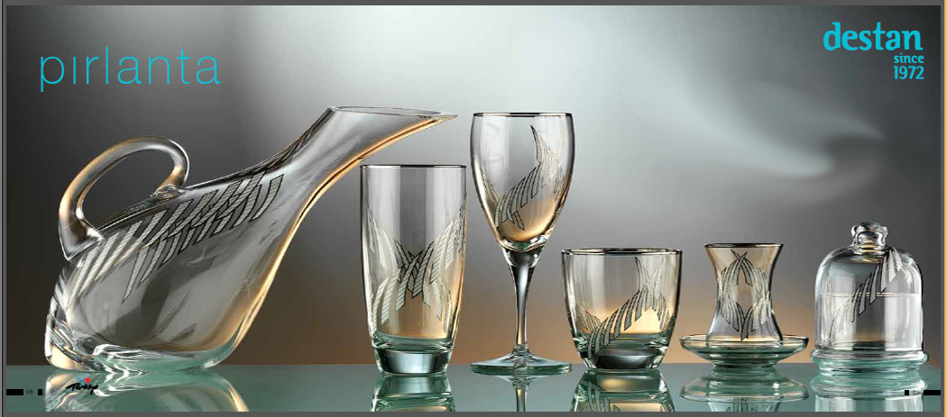 2014 Destan PIRLANTA Glass Sets