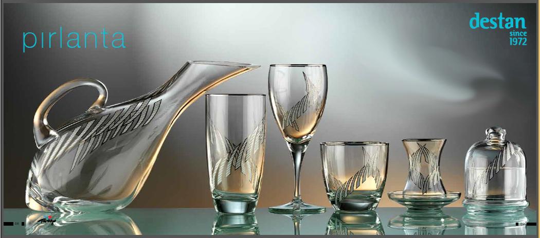 2014 Destan PIRLANTA Glass Sets